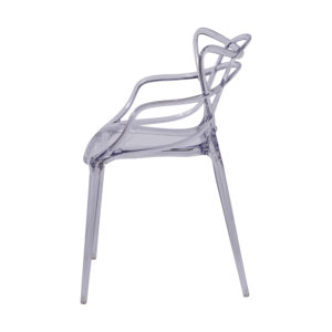 Cadeira Allegra incolor na Cadeiras e Cia em Belo Horizonte